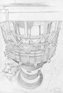 From The Helipad, Smalls Lt Ho, Pencil