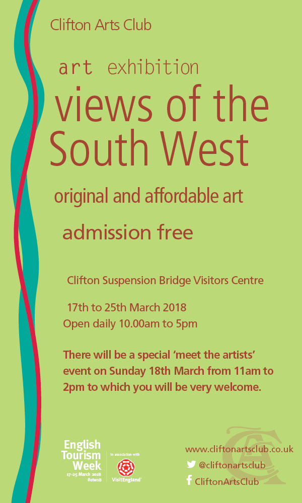 Clifton Arts Club Exhibition March Views of the south west