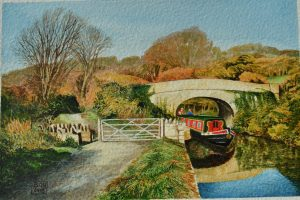 Winsley Bridge, Kennet and Avon Canal