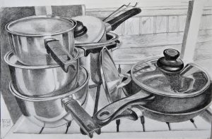Pots and Pans (Pencil)