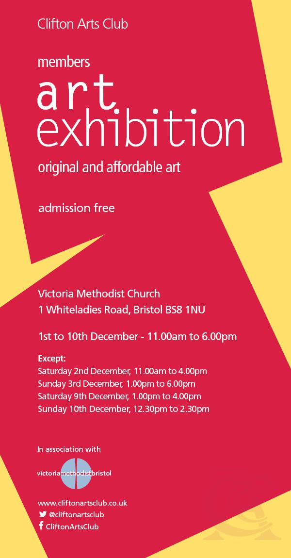 Clifton Arts Club Exhibiton Dec 2018