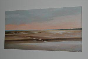 Taf Estuary at Low Tide
