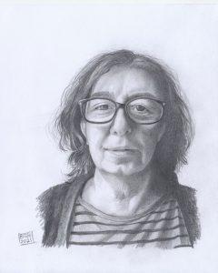 Portrait of Your Love - Angela (pencil on cartridge paper)