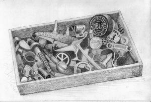Barry Hawkins Box of Bits