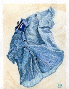 Barry Hawkins - Blue Shirt