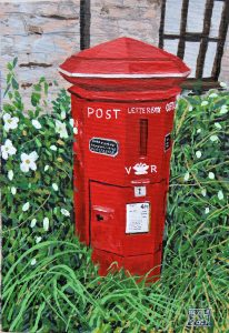 Letters and Parcels (Oils on Canvas)